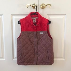 PINK Red and Mauve Women's Vest